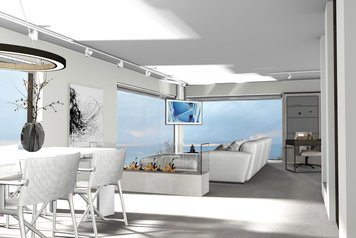 Online design Beach Combined Living/Dining by Ilaria C. thumbnail