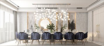 Online design Glamorous Dining Room by Zahra M. thumbnail