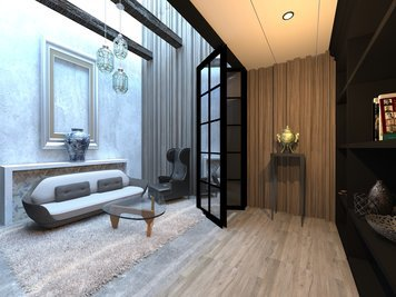 Online design Transitional Living Room by Vasant L. thumbnail