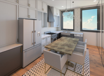Online design Transitional Kitchen by Kelsie T. thumbnail