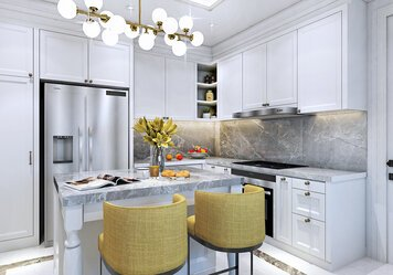 Online design Transitional Kitchen by Salome P. thumbnail