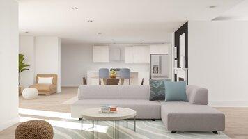 Online design Modern Living Room by Katelin S. thumbnail
