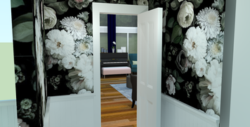 Online design Transitional Bathroom by Amber K. thumbnail