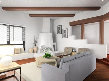 Online design Contemporary Living Room by Noraina Aina M. thumbnail
