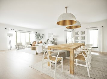 Online design Transitional Combined Living/Dining by Shasta P. thumbnail
