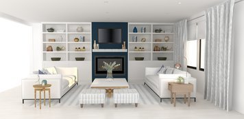Online design Transitional Living Room by Zena A. thumbnail