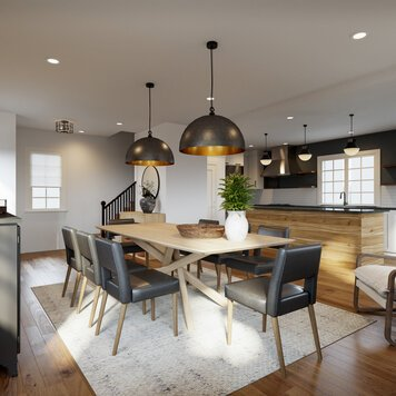 Online design Modern Dining Room by Drew F. thumbnail