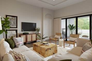 Online design Eclectic Living Room by Drew F. thumbnail