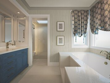 Online design Transitional Bathroom by Darya N. thumbnail