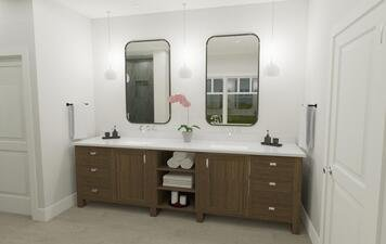 Online design Traditional Bathroom by Krystyna A. thumbnail