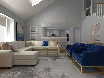 Online design Transitional Living Room by Dragana V. thumbnail
