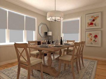 Online design Traditional Dining Room by Dragana V. thumbnail