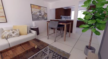 Online design Contemporary Living Room by Jamie S. thumbnail