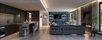 Online design Contemporary Combined Living/Dining by Sonia C. thumbnail