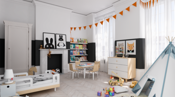 Online design Contemporary Kids Room by Eleni P thumbnail