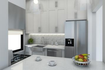 Online design Modern Kitchen by Picharat A.  thumbnail