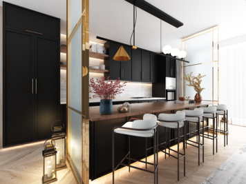 Online design Transitional Kitchen by Atif N. thumbnail