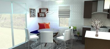 Online design Modern Dining Room by Merry M. thumbnail