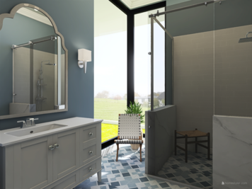Online design Traditional Bathroom by Kristin W. thumbnail