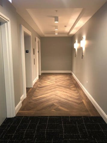 Online design Transitional Hallway/Entry by Annette C. thumbnail