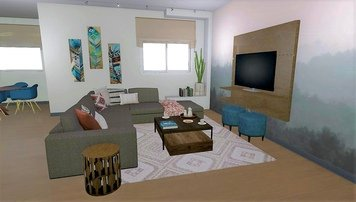 Online design Contemporary Living Room by Krystyna A. thumbnail