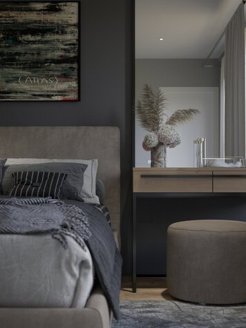 Online design Contemporary Bedroom by Nada M. thumbnail