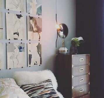 Online design Eclectic Bedroom by Sonia C. thumbnail