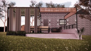 Online design Contemporary Patio by Rehan A. thumbnail