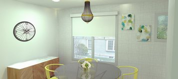 Online design Eclectic Dining Room by Merry M. thumbnail