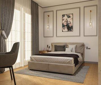 Online design Glamorous Bedroom by Edison X. thumbnail