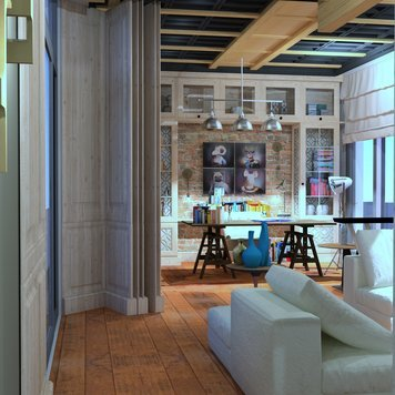 Online design Contemporary Home/Small Office by Ahmed E. thumbnail