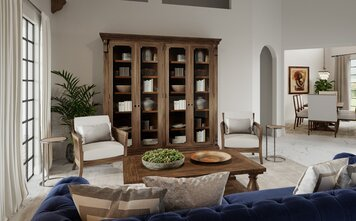 Online design Transitional Living Room by Drew F. thumbnail