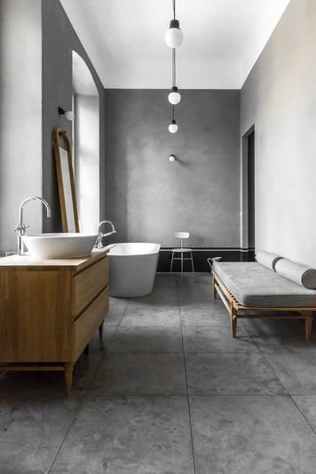 Online design Modern Bathroom by Scott T. thumbnail