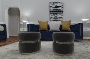 Online design Modern Living Room by Chante F. thumbnail