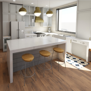 Online design Contemporary Kitchen by Kelsie T. thumbnail