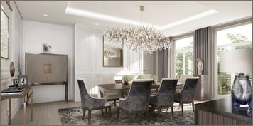 Online design Glamorous Dining Room by Ilaria C. thumbnail