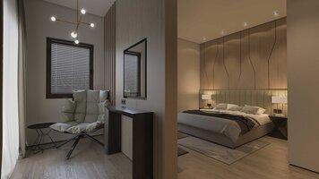 Online design Modern Bedroom by Sophio J. thumbnail
