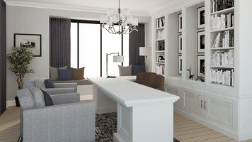 Online design Transitional Business/Office by Selma A. thumbnail