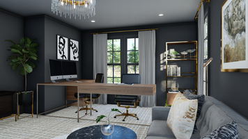 Online design Glamorous Home/Small Office by Picharat A.  thumbnail