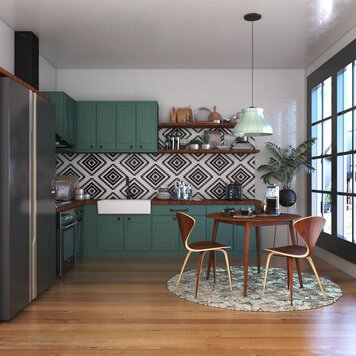 Online design Eclectic Kitchen by Shofy D. thumbnail