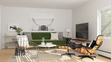 Online design Eclectic Living Room by Katelin S. thumbnail