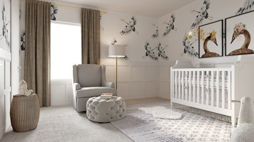 Online design Traditional Nursery by Lauren A. thumbnail