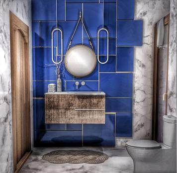 Online design Glamorous Bathroom by Ahmed E. thumbnail