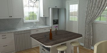 Online design Country/Cottage Kitchen by Merry M. thumbnail