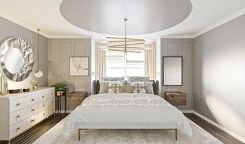 Online design Transitional Bedroom by Darya N. thumbnail