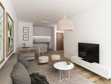 Online design Contemporary Combined Living/Dining by Vale G. thumbnail