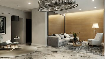 Online design Contemporary Living Room by Aida A. thumbnail