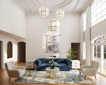 Online design Contemporary Living Room by Cayla S. thumbnail
