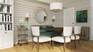 Online design Traditional Combined Living/Dining by Selma A. thumbnail