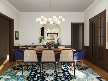Online design Eclectic Dining Room by Casey H. thumbnail